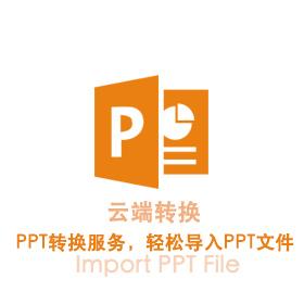 在专业版中使用PPT云转换模式--入门操作